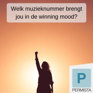 Welk muzieknummer brengt jou in de winning mood?